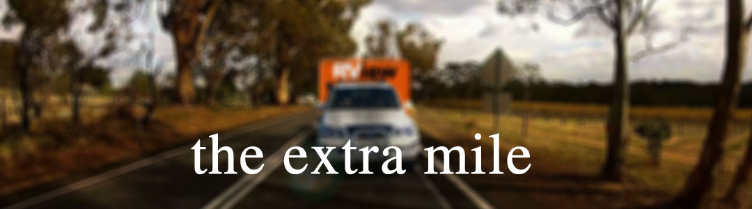 andrew kennedy goes the extra mile